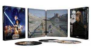 Star Wars Episode Vi Le Retour Du Jedi Steelbook Exclusivite Fnac Blu Ray 4k Ultra HD