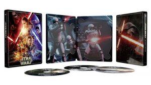 Star Wars Episode Vii Le Reveil De La Force Steelbook Exclusivite Fnac Blu Ray 4k Ultra HD