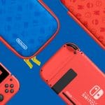 Console Nintend Switch Super Mario Design