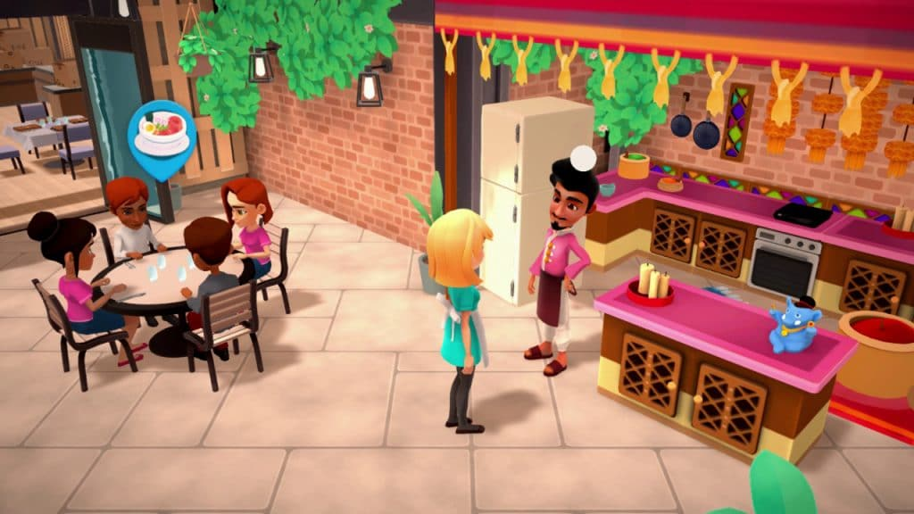 My Universe Cooking Star Restaurant Screen 01