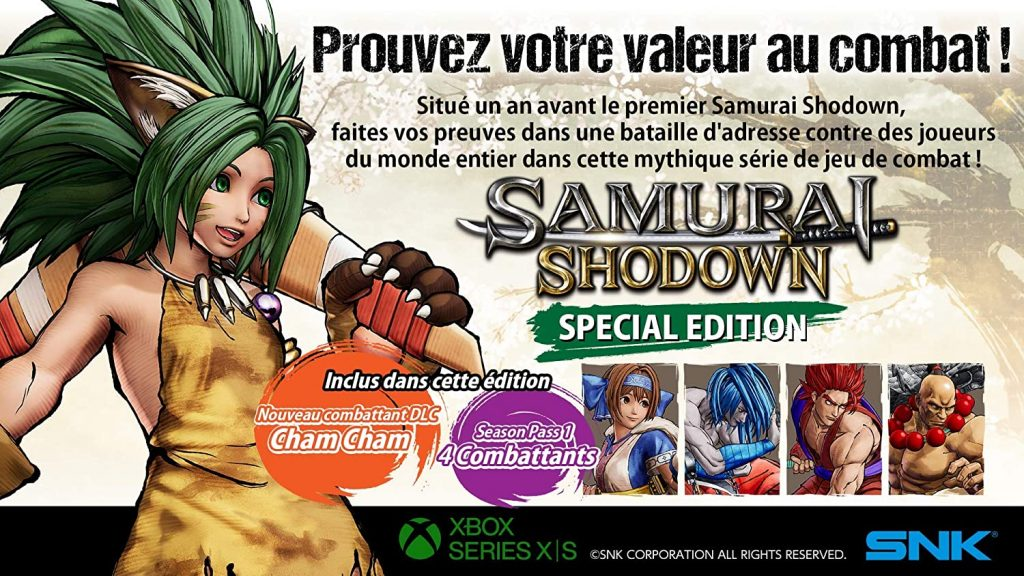 Samurai Shodow Edition Xbox Series