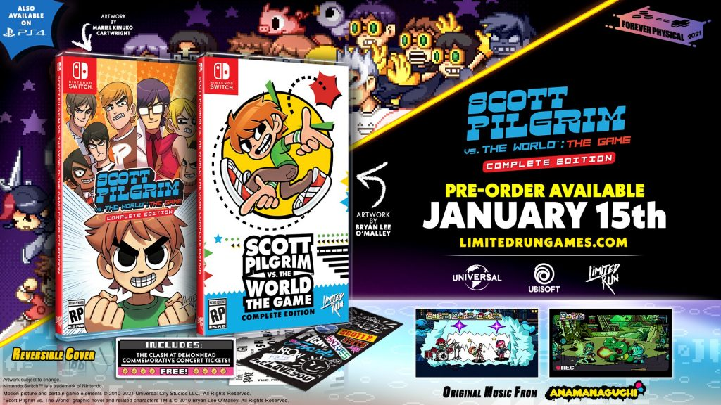 Scott Pilgrim Vs The World The Game Complete Edition Lrg
