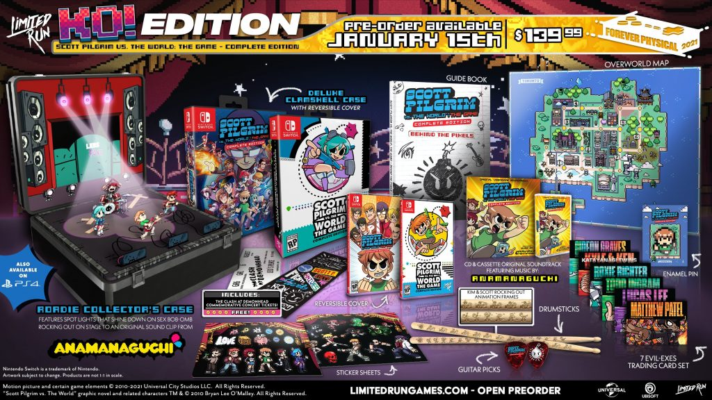 Scott Pilgrim Vs The World The Game Complete Edition Lrg Ko Edition