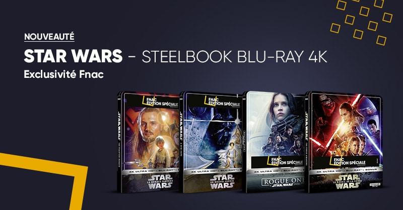 Star Wars Steelbook 4k Blu Ray