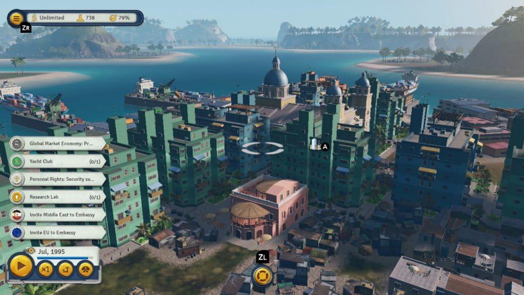 Tropico 6 Switch Screen 06