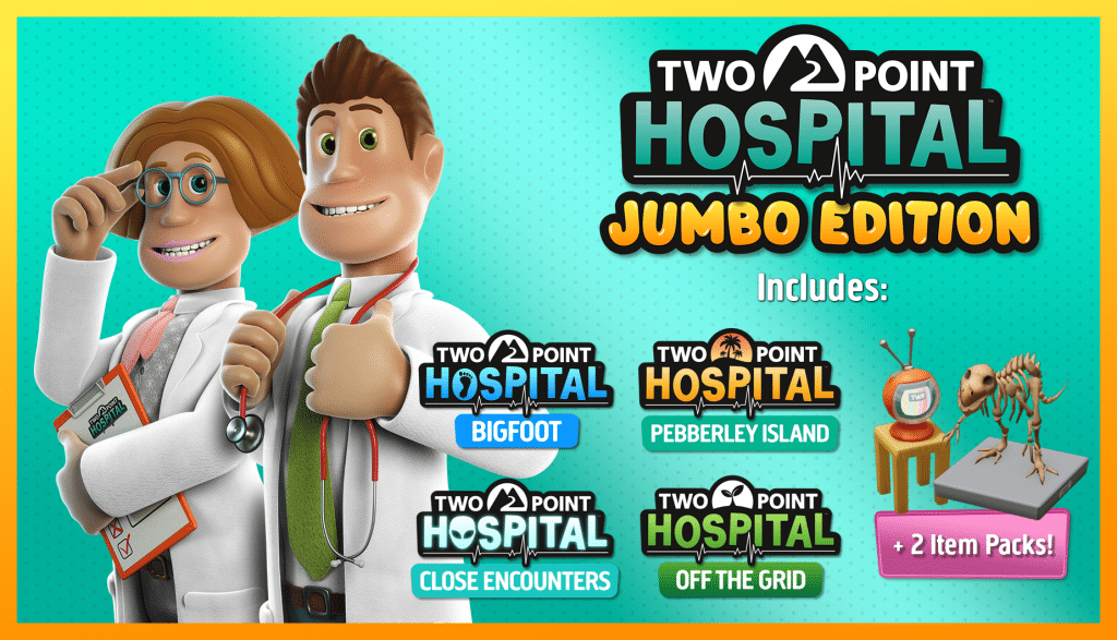 Two Point Hospital Contents