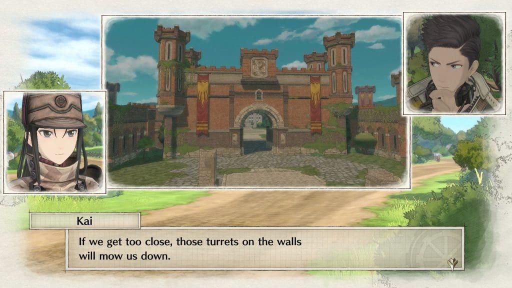 Valkyria Chronicles 4 Stadia Kai Claude Dialogue