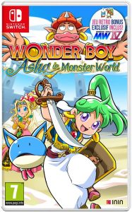 Wonder Boy Asha Switch