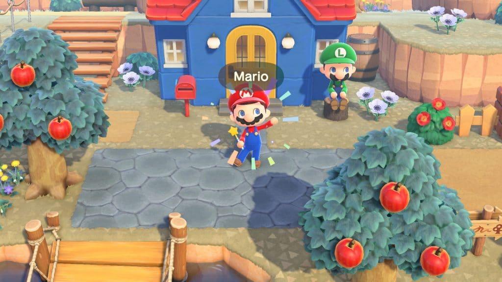 Animal Crossing Super Mario Screen 01