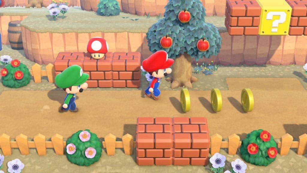 Animal Crossing Super Mario Screen 02