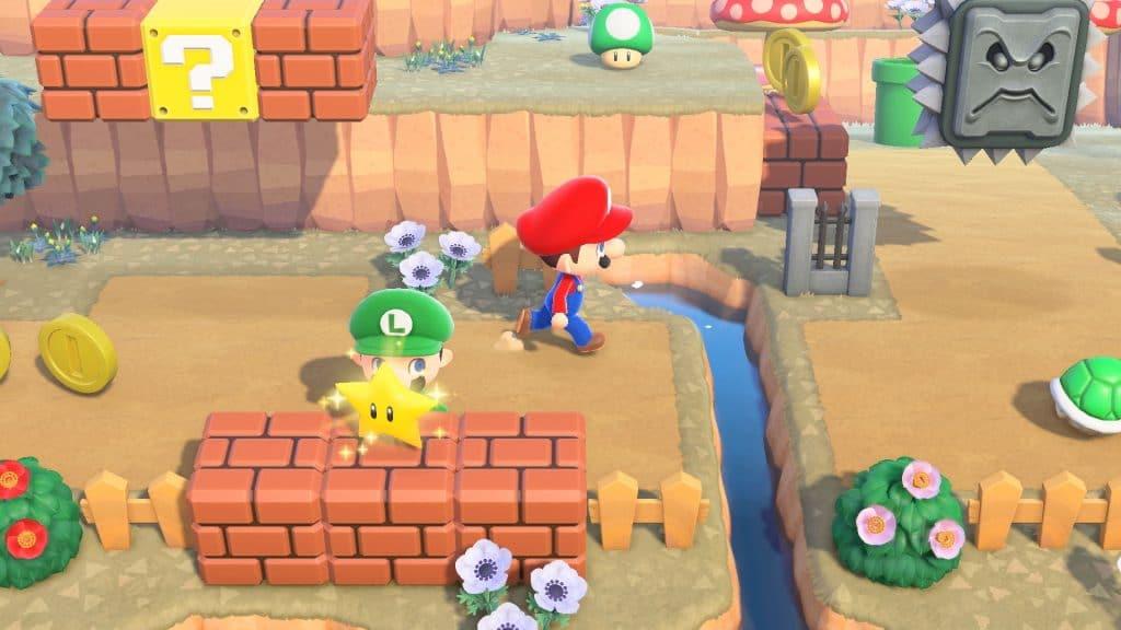 Animal Crossing Super Mario Screen 03