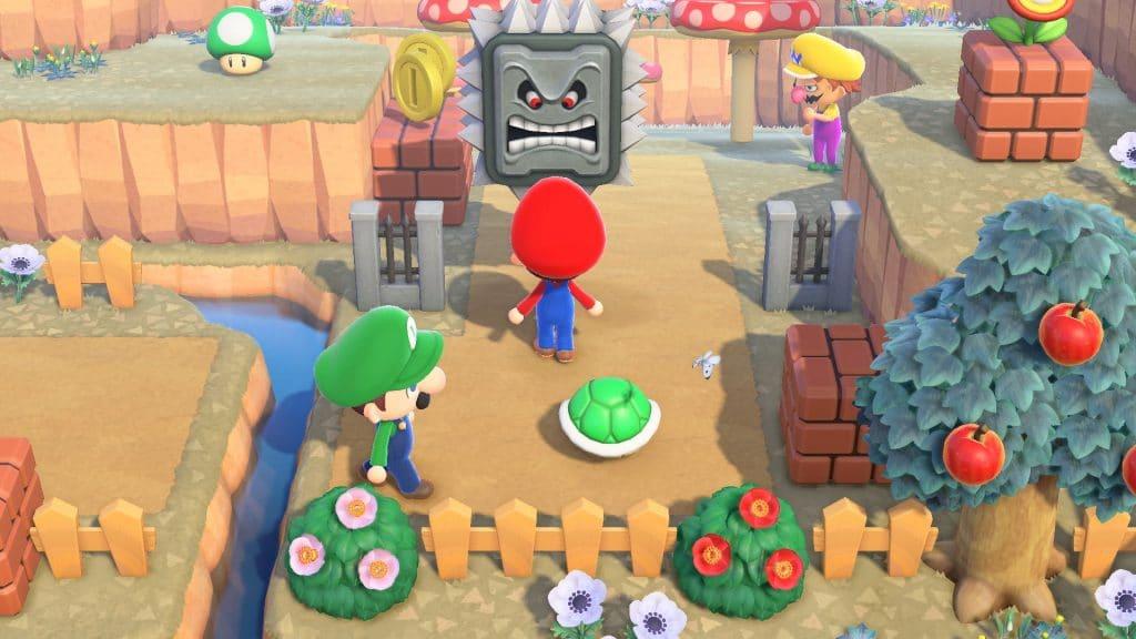 Animal Crossing Super Mario Screen 04