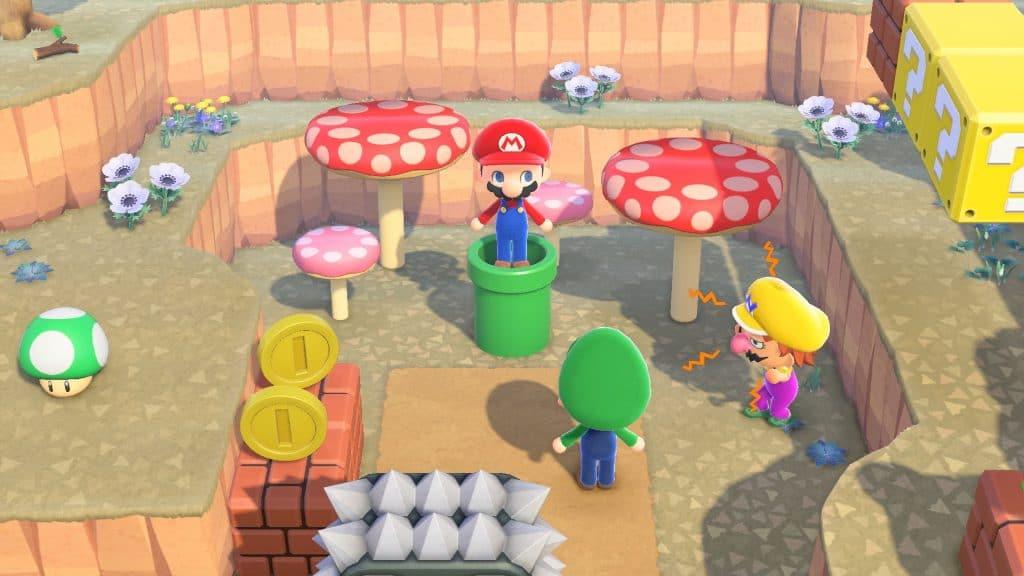 Animal Crossing Super Mario Screen 05