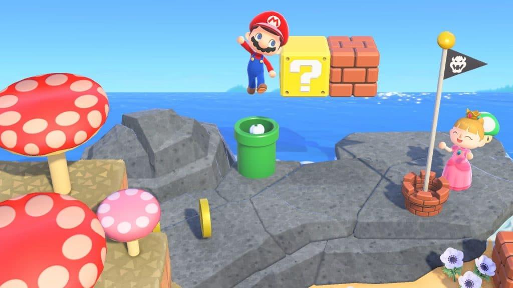 Animal Crossing Super Mario Screen 06