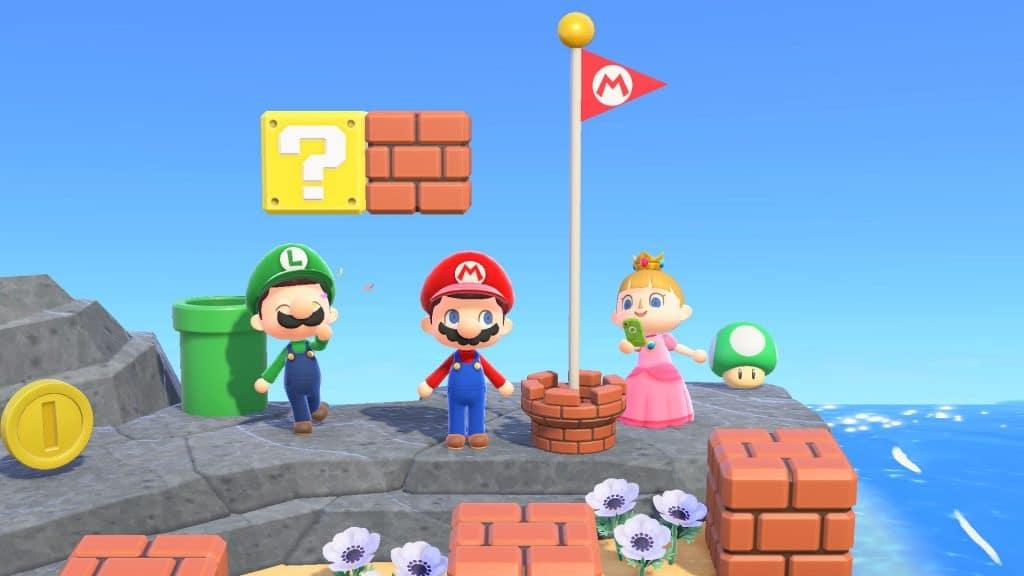 Animal Crossing Super Mario Screen 07