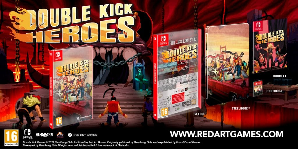 Double Kick Heroes Steelbook