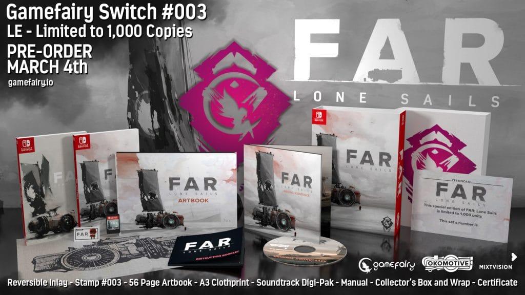Far Lone Sails Switch Gamefairy
