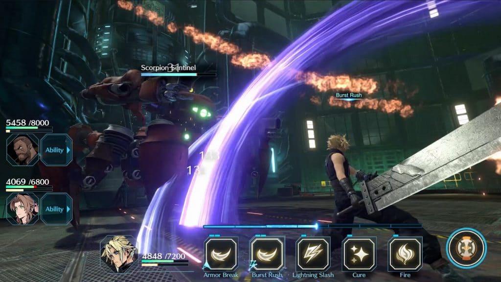 Final Fantasy 7 Ever Crisis Screen 01 En