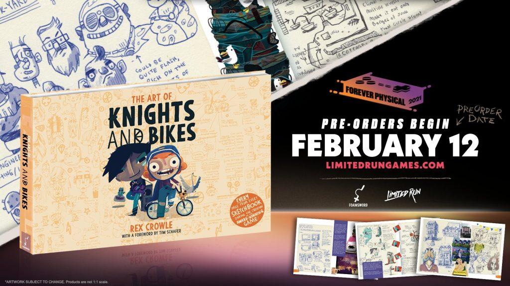 Knights And Bikes Lrg Art