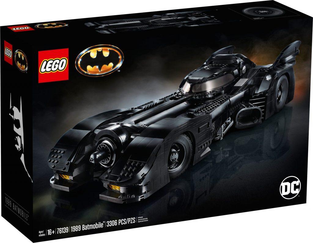 Lego Batman Batmobile 1989 Package