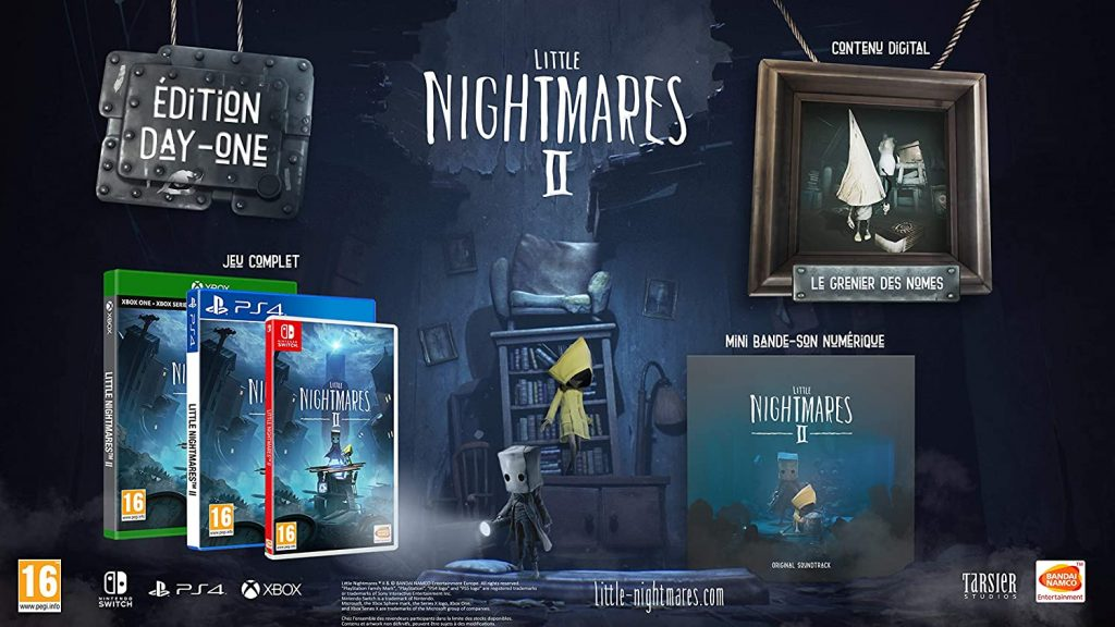 Little Nightmares 2 Edition Day One