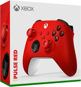 Manette Xbox Pulse Red