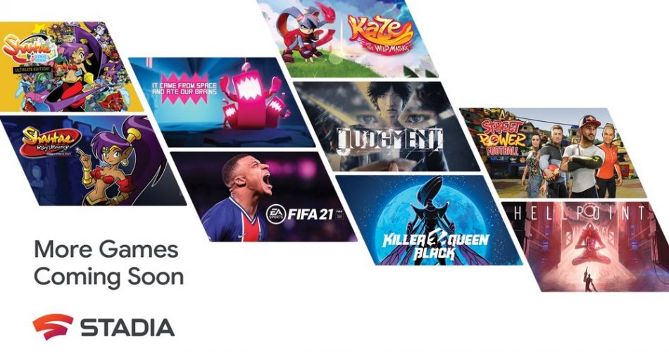 More Stadia Games