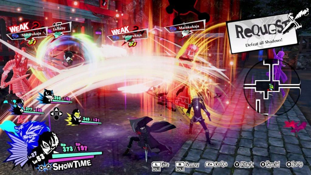 Persona 5 Strikers Screen 01
