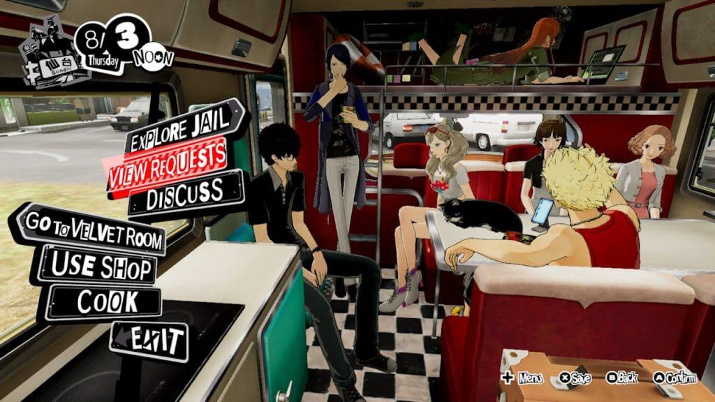 Persona 5 Strikers Screen 03