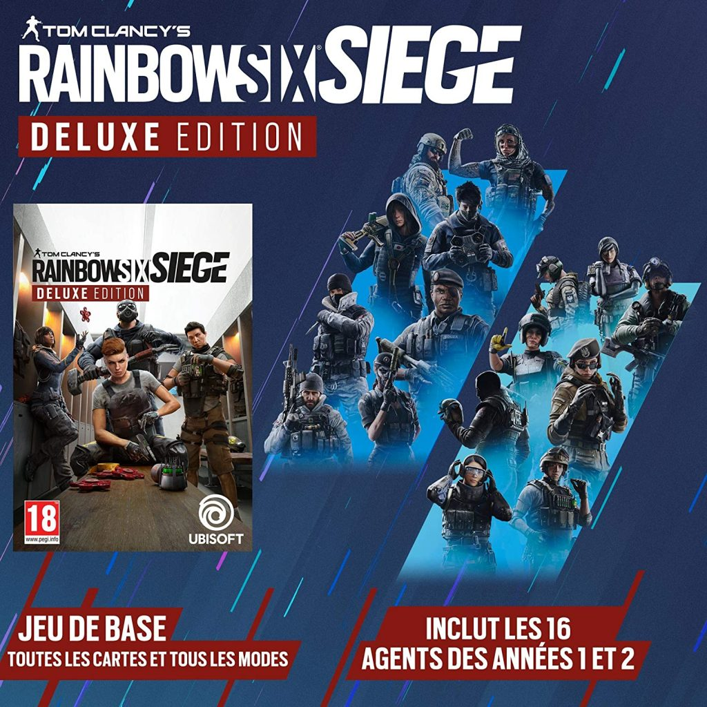 Rainbow Six Siege Edition Deluxe Contenus