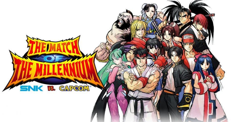 Snk Vs Capcom The Match Of The Millennium