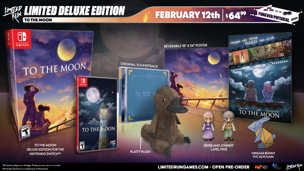To The Moon Switch Lrg Edition Deluxe