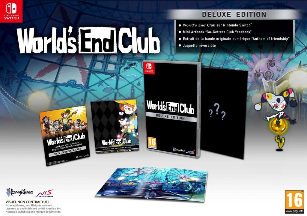 Worlds End Club The Deluxe Edition Switch