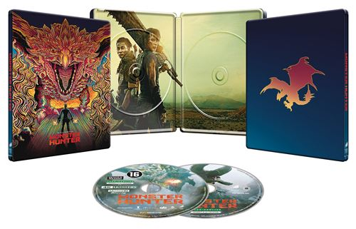 Monster Hunter Edition Speciale Fnac Steelbook Blu Ray 4k Ultra HD
