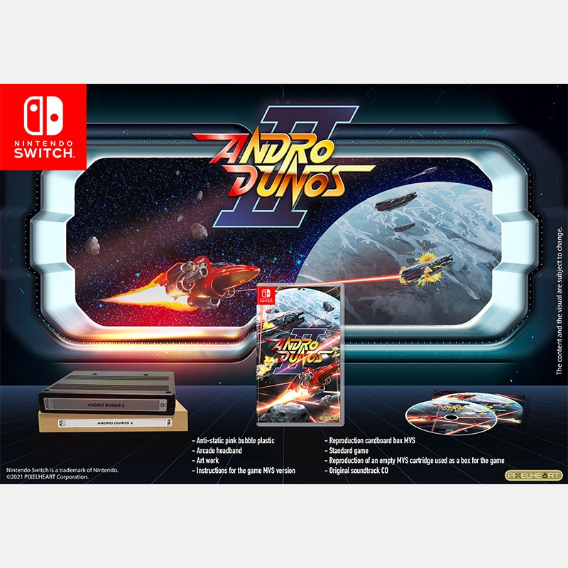 Andro Dunos 2 Switch Edition Mvs