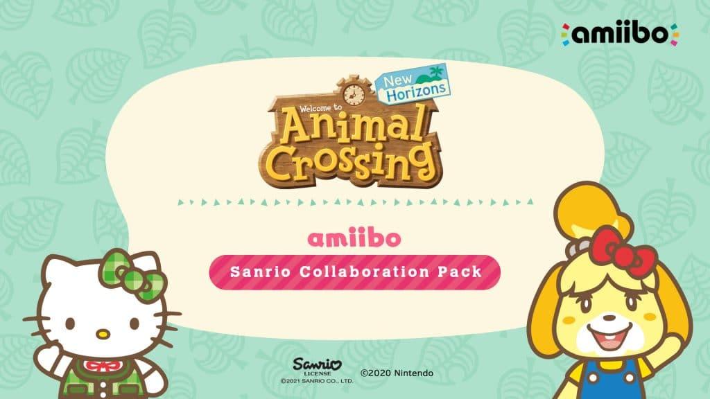 Animal Crossing New Horizons Sanrio Pack