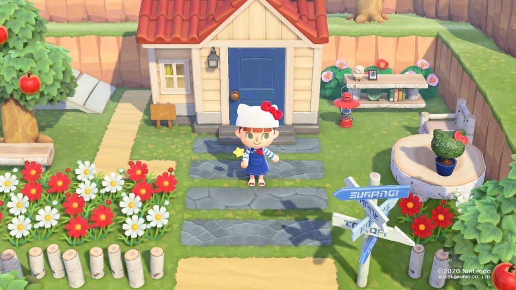 Animal Crossing New Horizons Sanrio Screen 01