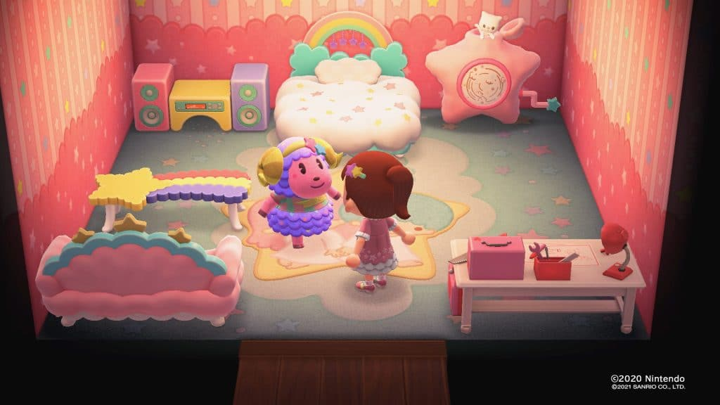 Animal Crossing New Horizons Sanrio Screen 06