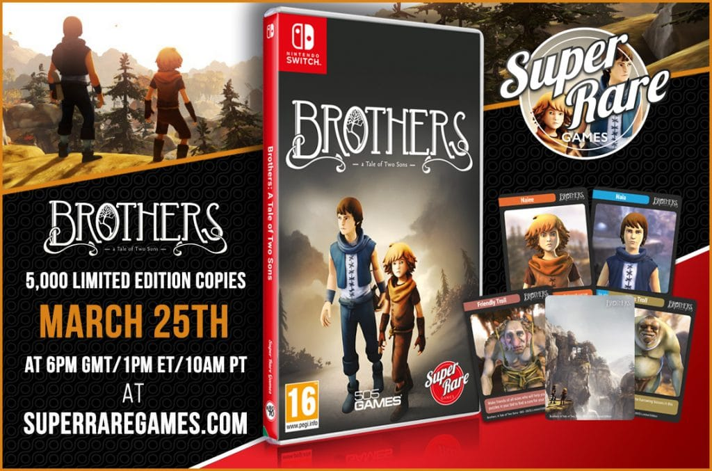 Brothers A Tale Of Two Sons Switch Srg