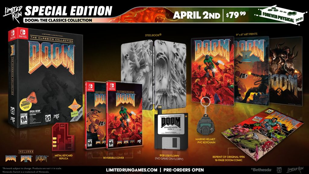 Doom The Classics Collection Lrg Special