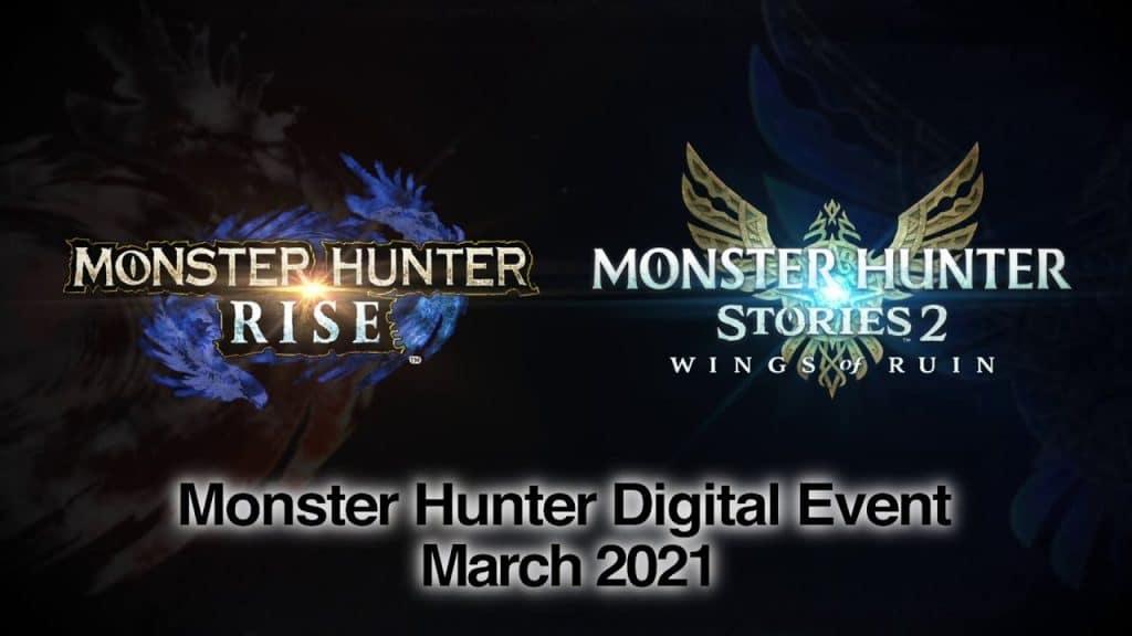 Monster Hunter Digital Event Mars 2021