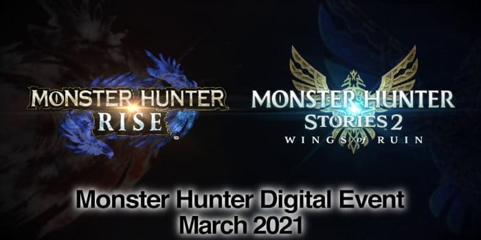 Monster Hunter Digital Event Mars 2021