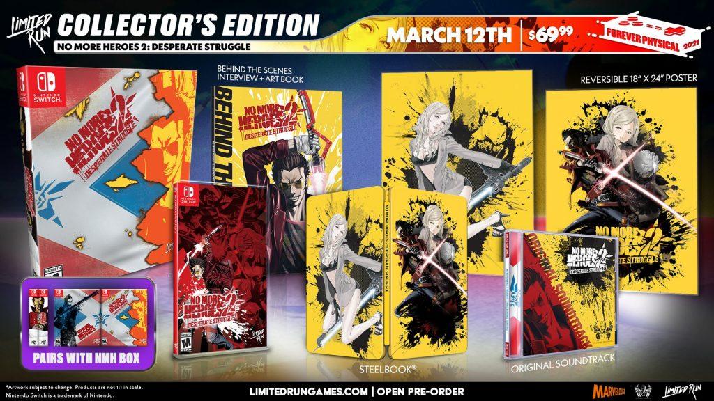 No More Heroes 2 Edition Collector