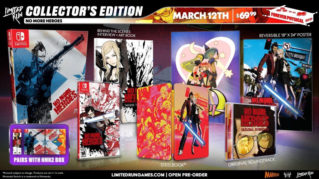 No More Heroes Edition Collector