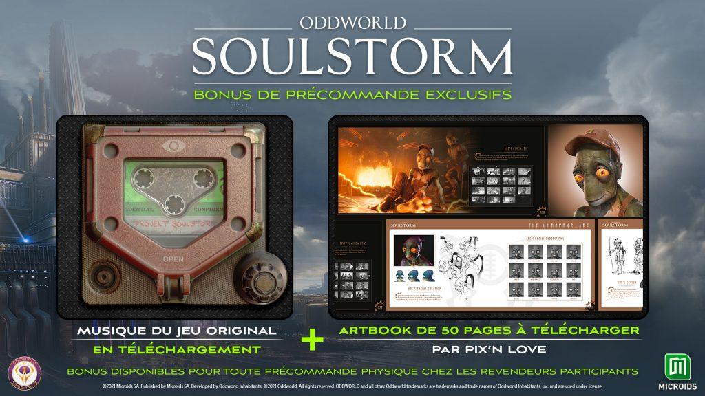Oddworld Soulstorm Bonus Preco