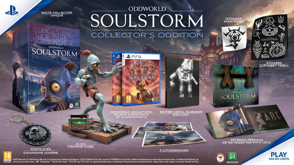 Oddworld Soulstorm Oddition Collector