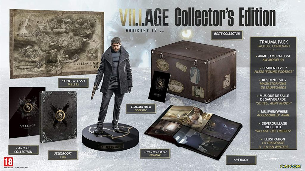 Resident Evil Village Edition Collector Vf