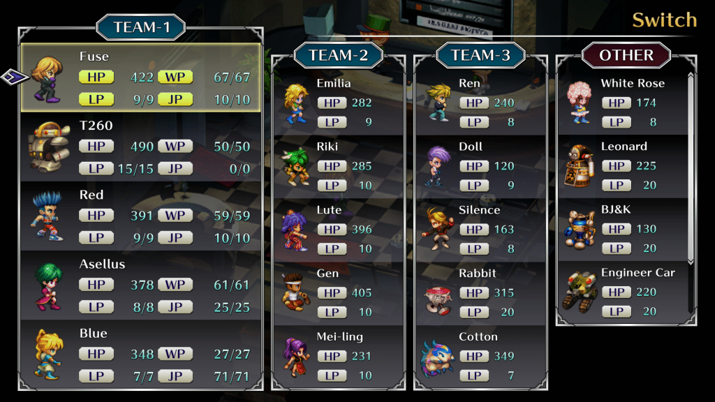 Saga Frontier Remastered Screen 13 All Other Protagonists Join Party