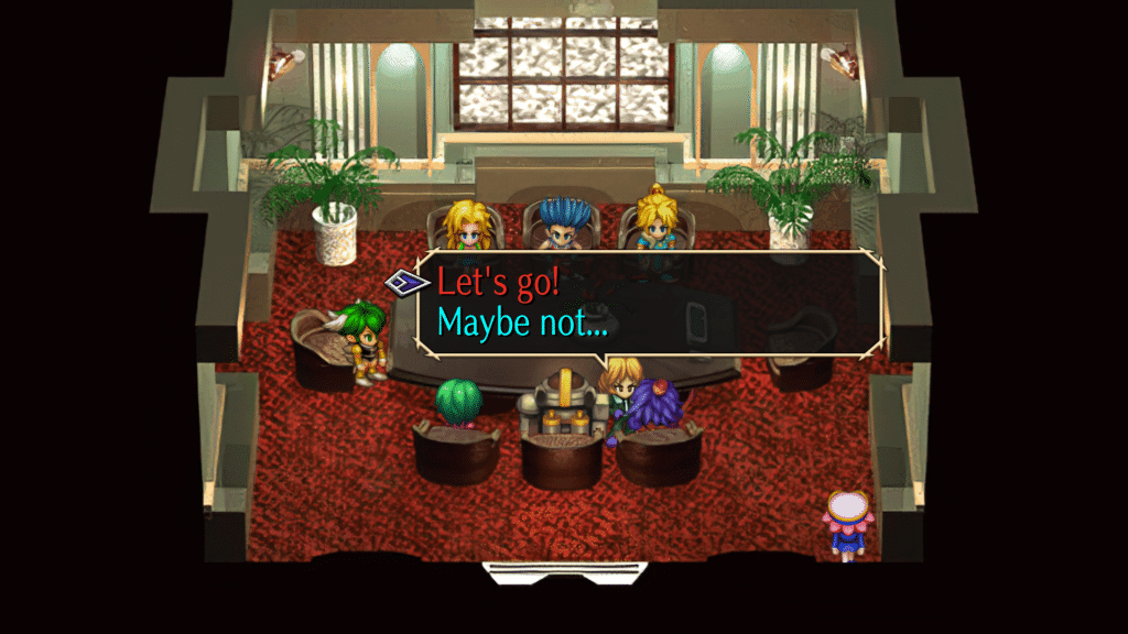 Saga Frontier Remastered Screen 14 Can Fight With All Last Bosses In Other Scenario