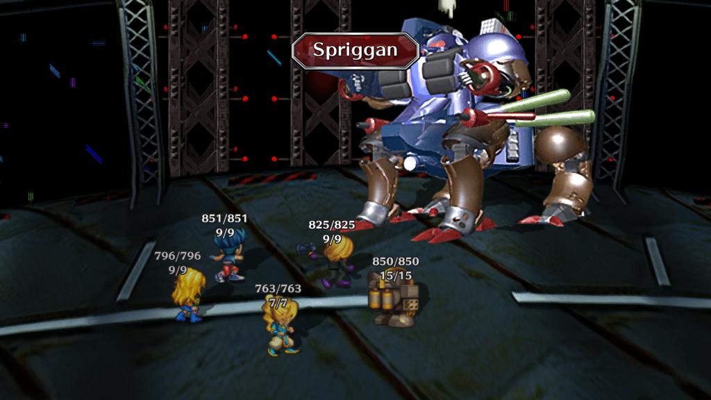 Saga Frontier Remastered Screen 15 Lasst Boss Battle